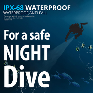 Image 3 - IP68 najwyższa latarka do nurkowania latarka 5 * T6 L2 latarka nurkowa 200M podwodna wodoodporna taktyczna profesjonalna lampa nurkowa latarnia