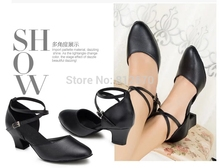 Simple Geniune leather Women s Latin dance shoes Ballroom dancing shoes Salsa Samba Tango Square dance