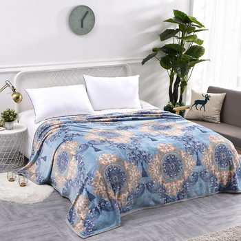 300GSM Fluffy Soft Warm Flannel Blankets For Beds Summer Throw Winter Sofa Cover Single Double Bed Sheet Bedspread Blankets