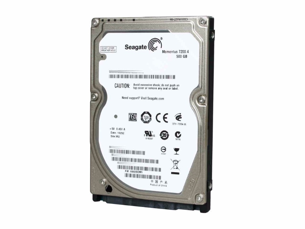 Seagate 2.5 500 GB Internal Hard Drive3.0G/S 7200RPM For laptop ST9500420AS