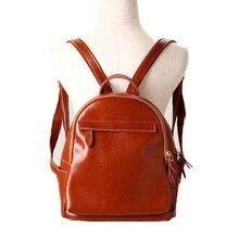 Корейский стиль бизнес женщин рюкзак спилок Bagpack для девочек школьные Bookbag повседневные Mochilas femininas 2017