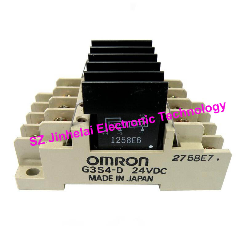 OMRON G3S4-D DC24V  New and original OMRON TERMINAL RELAY 24VDC