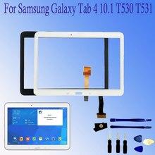 """Для samsung GALAXY Tab 4 10,"""" T530 T531 T535 SM-T530 сенсорный экран дигитайзер стеклянная Сенсорная панель Замена планшетного ПК"""