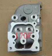 Fast Shipping diesel engine 170F Cylinder head spare parts best quality suit for kipor kama Chinese brand free shipping diesel engine 170f 4hp cylinder head spare parts intake valve air cooled suit for kipor kama chinese brand
