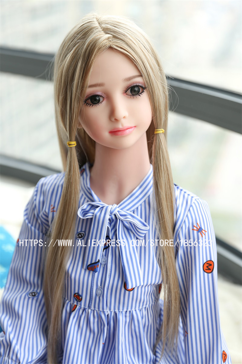Buy new 100cm Sex Dolls Real Silicone Cup Breast Stainless Steel Skeleton Vagina Anal Realistic Love Dolls Small Breast M