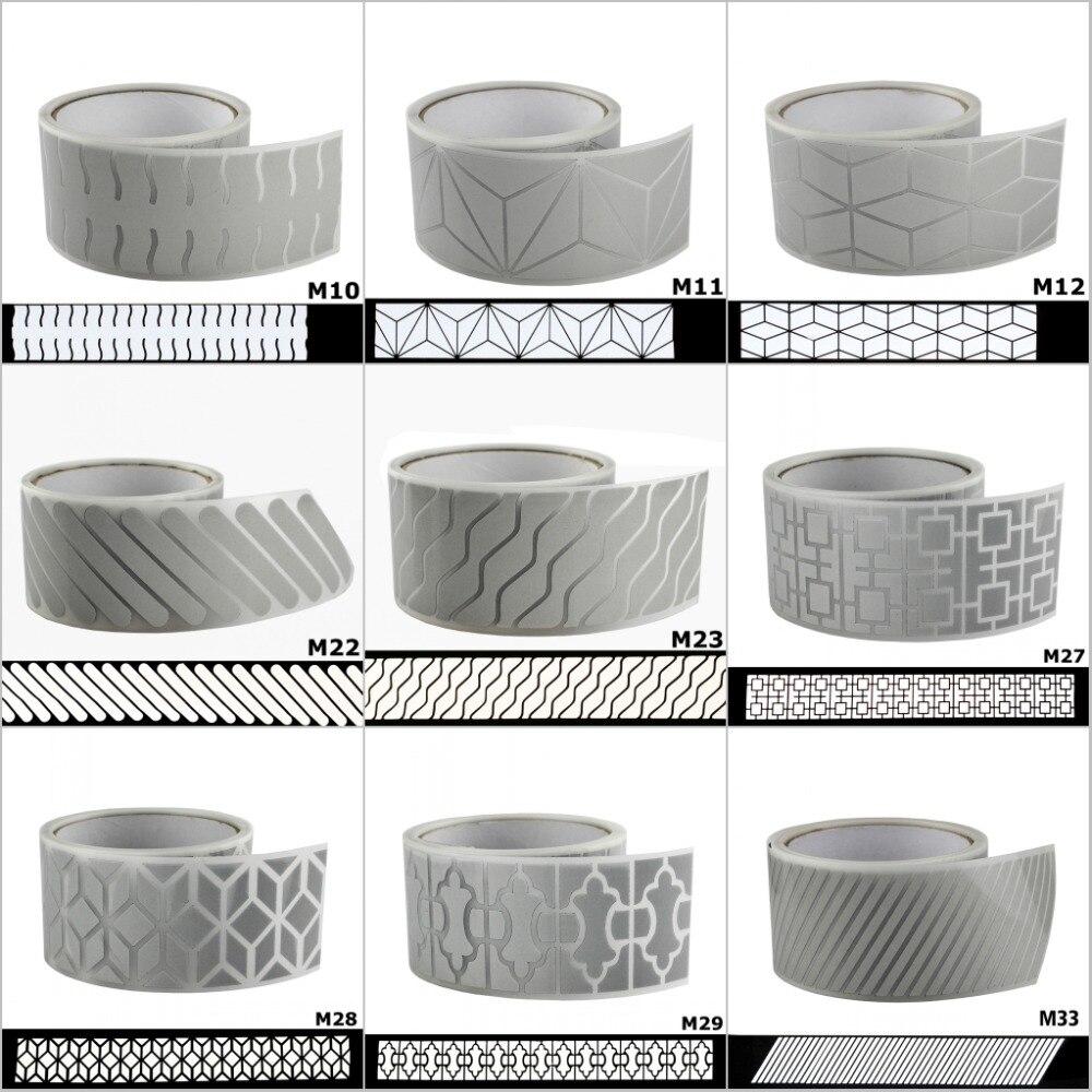 1M Heat-transfer Vinyl Film DIY Reflective Iron on Fabric Clothing Tape Crafts