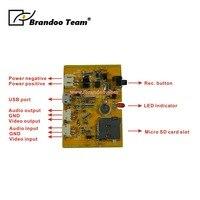 Mini HD DVR Board 1280x720 HD FPV DVR Module