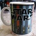 Перевозка груза падения! Звездные войны Световой Меч Тепла Выявить Кружка изменение цвета Кружка чашка кофе чувствительной Керамическая Кружка