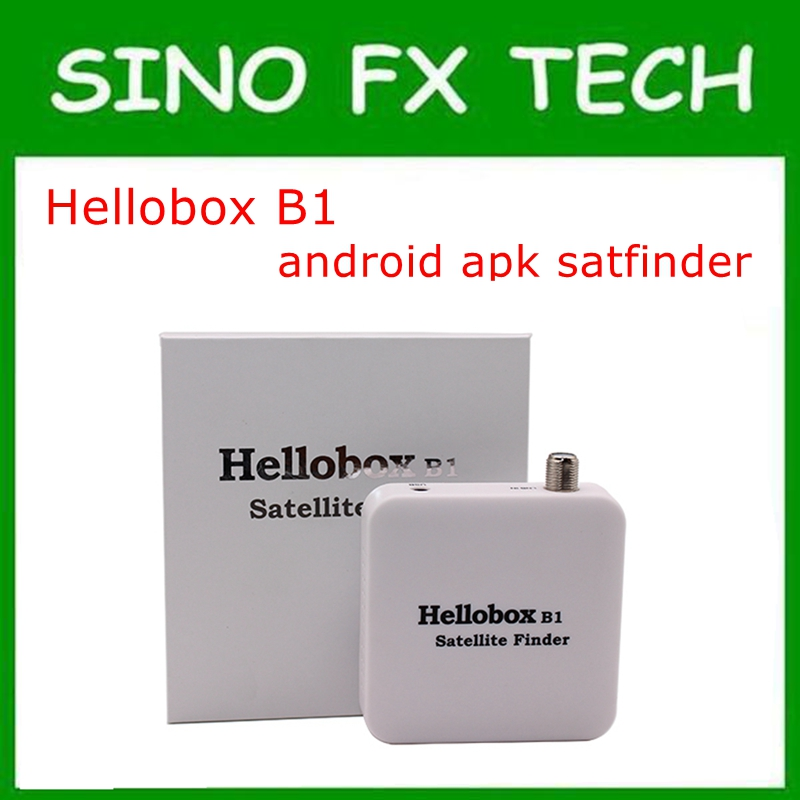 mini Bluetooth Satellite Finder With Android System APP For Receiver New Style APP Satellite Finder Hellobox B1 hellobox b1 bluetooth satellite finder with android system app for satellite tv receiver new style app satellite meter