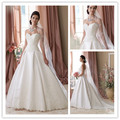 Unique Design Sweetheart Beaded Detachable Skirt Wedding Dresses Women Bridal Ball Gowns 2016  New Fashion