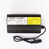 YZPOWER Auto Stop 84V 4A 3.5A 3A Lithium Battery Charger For 72V Li Ion Lipo Battery Pack Ebike E bike Smart Charger
