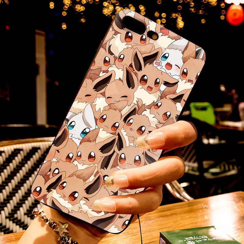MaiYaCa mejor Pokemons de la caja de los accesorios del teléfono para Apple iphone 11 pro 8 7 66S Plus X 5S SE XS XR XS MAX cubierta