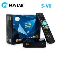 [Подлинный] S-V6 Мини HD спутниковый ресивер V6 Поддержка cccamd Newcamd xtream IPTV Nova колеса ТВ YouTube USB WiFi 3 г Biss ключ