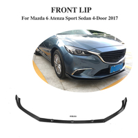Carbon Fiber Front bumper lip Chin for Mazda 6 Atenza Sport Sedan 4 Door 2017 Car Styling