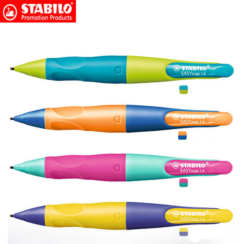 M/&G 1.1mm Mechanical HB Pencil for Pupils+Pencil leads,Posture Correct Pencil
