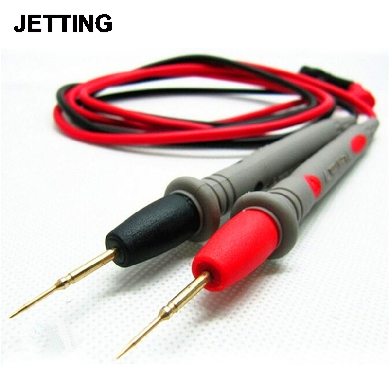 2Pcs/Set SMT IC SMD Great Universal Digital Multimeter Needles Multi Meter Test Lead Probe Wire Pen Cable High Quality 105cm