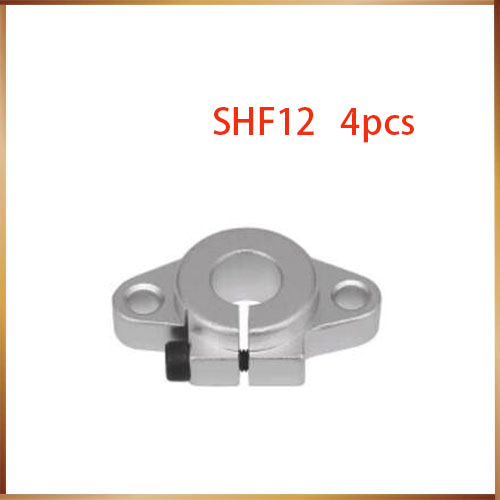 1PCS SHF10 SHF13 SHF16 Aluminum CNC Linear Rail Shaft Guide Support with Bearing