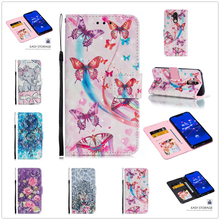 Flip Case For Huawei Mate 20 Lite Pro Fundas Cute Style for P20 P30 Cover Wallet Stand Mate20 P Phone Coque