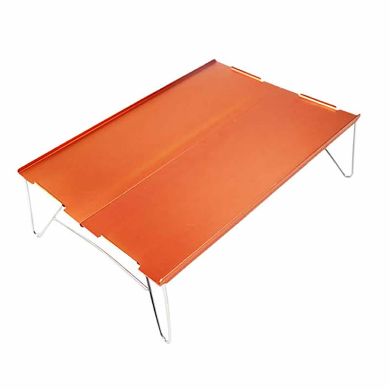 xiu Mini Small Aluminum Camping Picnic Outdoor Hiking Table One and Two People-in Outdoor Tables from Furniture