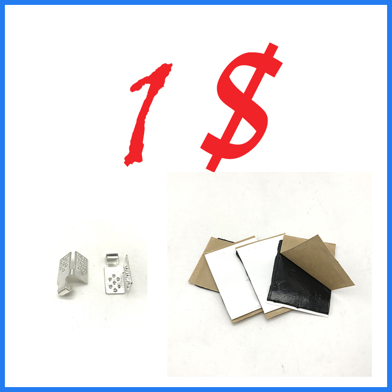 1 USD For 2 Pcs Clips + 4 Pcs Insulation Pastes Heating Film Connection Accessories