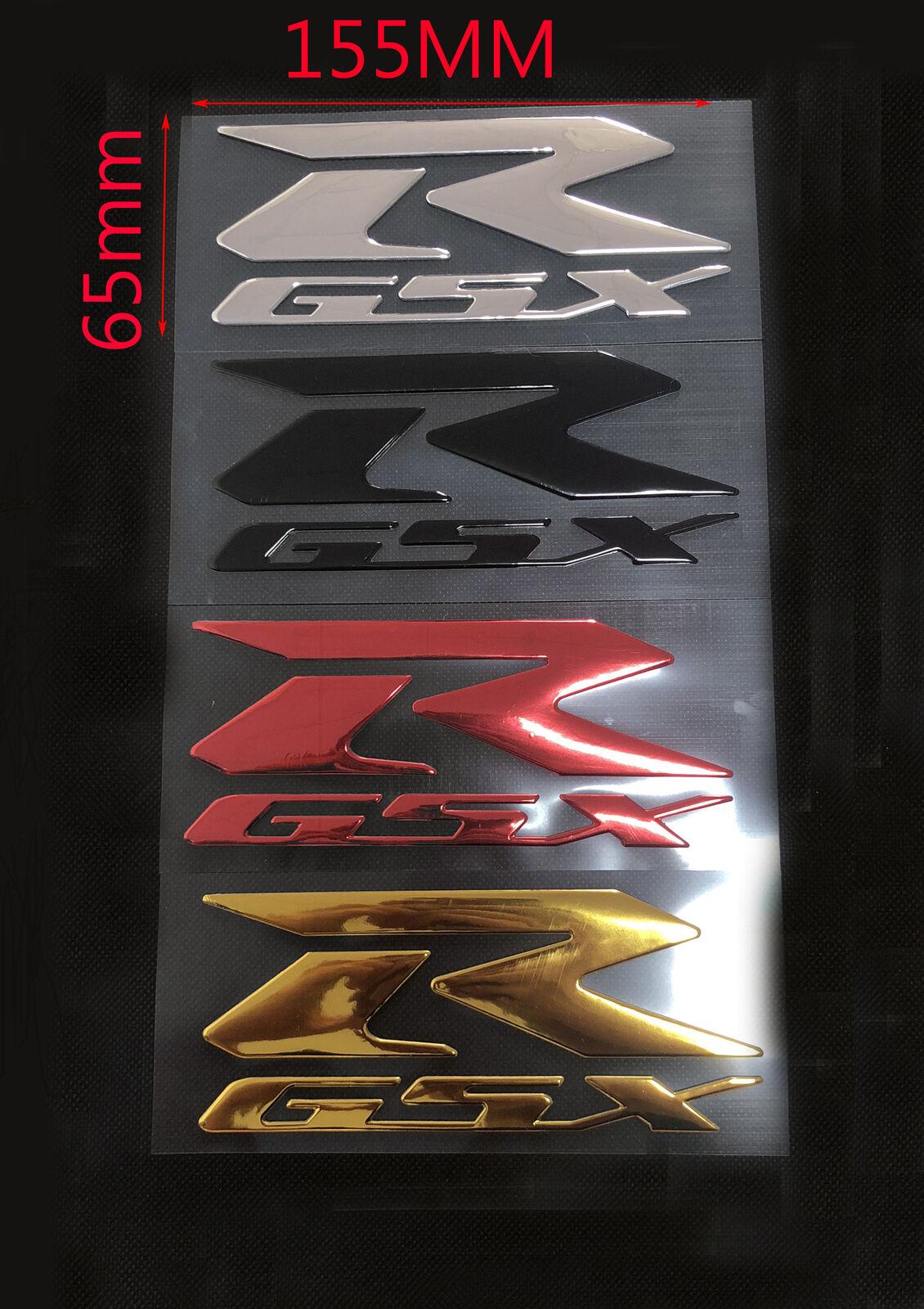 2Pcs 3D Emblem Fender TANK Logo Decal Logo Sticker For Suzuki GSXR GSXR1000 GSXR600 GSXR750 K1 K2 K3 K4 K5 K6 K7 K8 Motorcycle