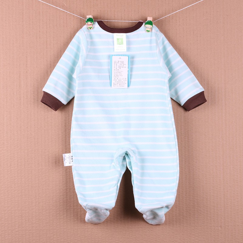 New Arrival Baby Footies Boys&Girls Jumpsuits Spring Autumn Clothes Warm Cotton Baby Footies Fleece Baby Clothing Free Shipping (27)