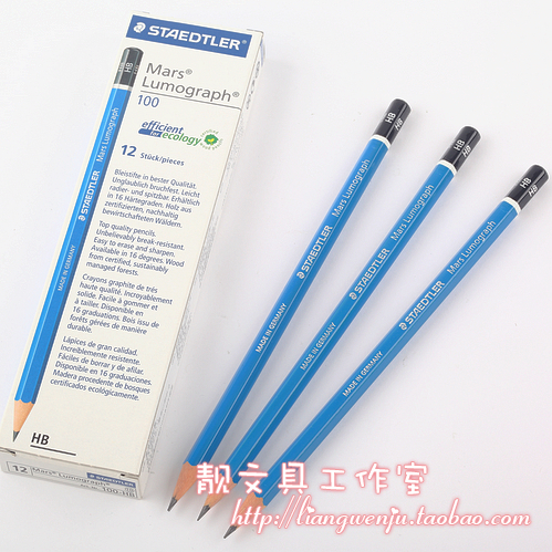 Staedtler Blue Top Grade Pencil Sketch Pencils For Drawing 6h 8b 16pcs Lot