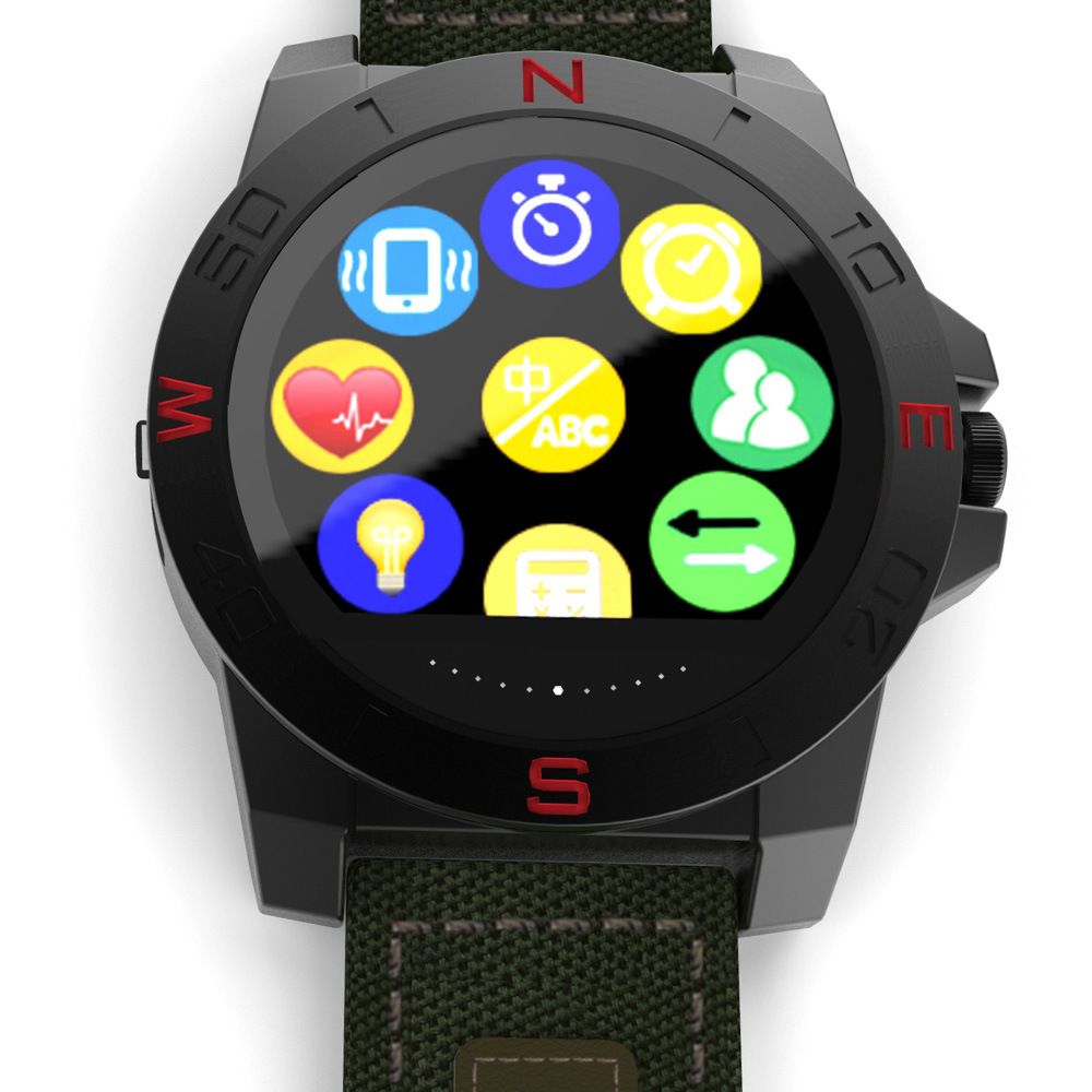 N10B Outdoor Bluetooth Smart Watch Waterproof Pedometer Heart Rate Sleep Monitor Call Remind Remote Camera Wristwatch for Phones