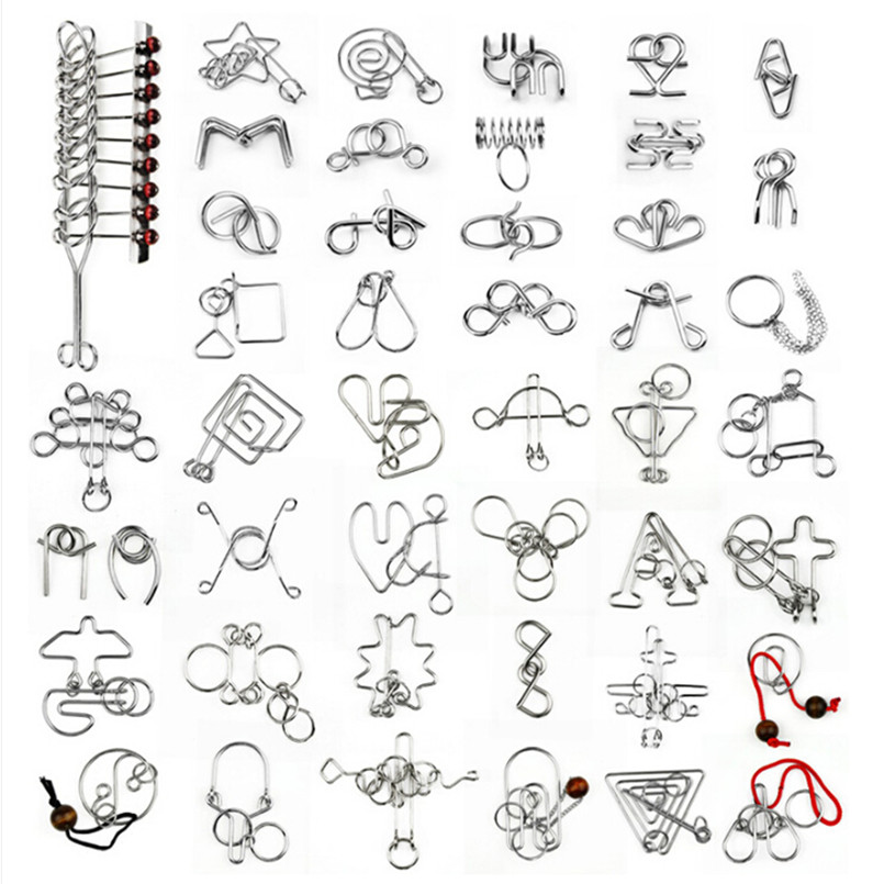 online buy wholesale metal wire puzzles from china metal