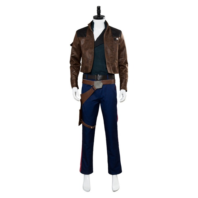 Solo: A Star Wars Story Han Solo Cosplay Costume Custom Made 1