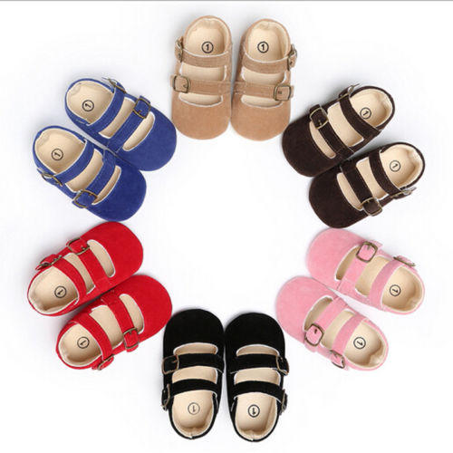 0-18 Months Spring Autumn Casual Baby Toddler Infant Boy Girl Soft Sole Cotton Prewalker Crib Shoes