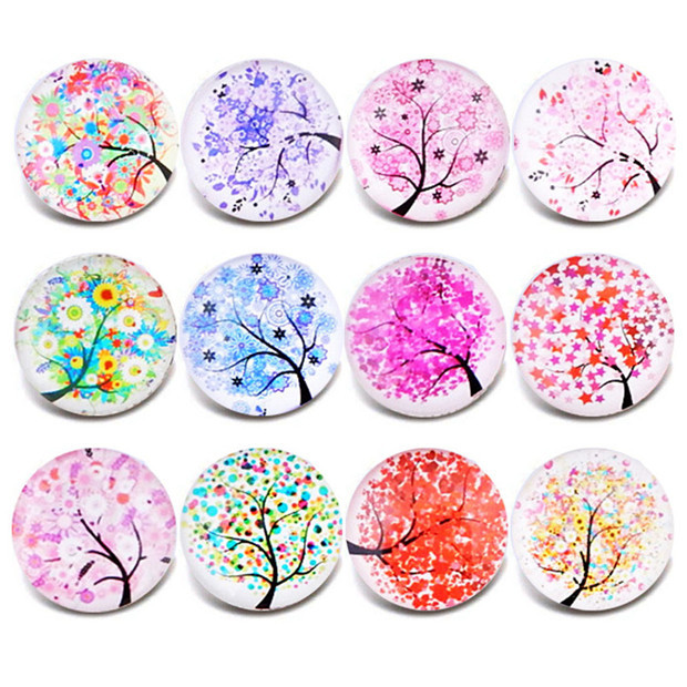 10pcs Mixed Colors 18MM...