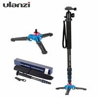 Ulanzi Manbily Professional Aluminium Camera Tripod 65inch 5 Sections Video Monopod For Canon Nikon DSLR Gopro