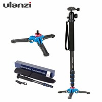 Ulanzi Manbily Professional Aluminium Camera Tripod 65inch 5 Sections Video Monopod For Canon Nikon DSLR Gopro