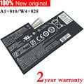 Nueva original de la tableta de batería para acer iconia tab a1-810 w4-820 ac13f8l w4-820p a810-a1 1cp5/60/80-2 ac13f3l