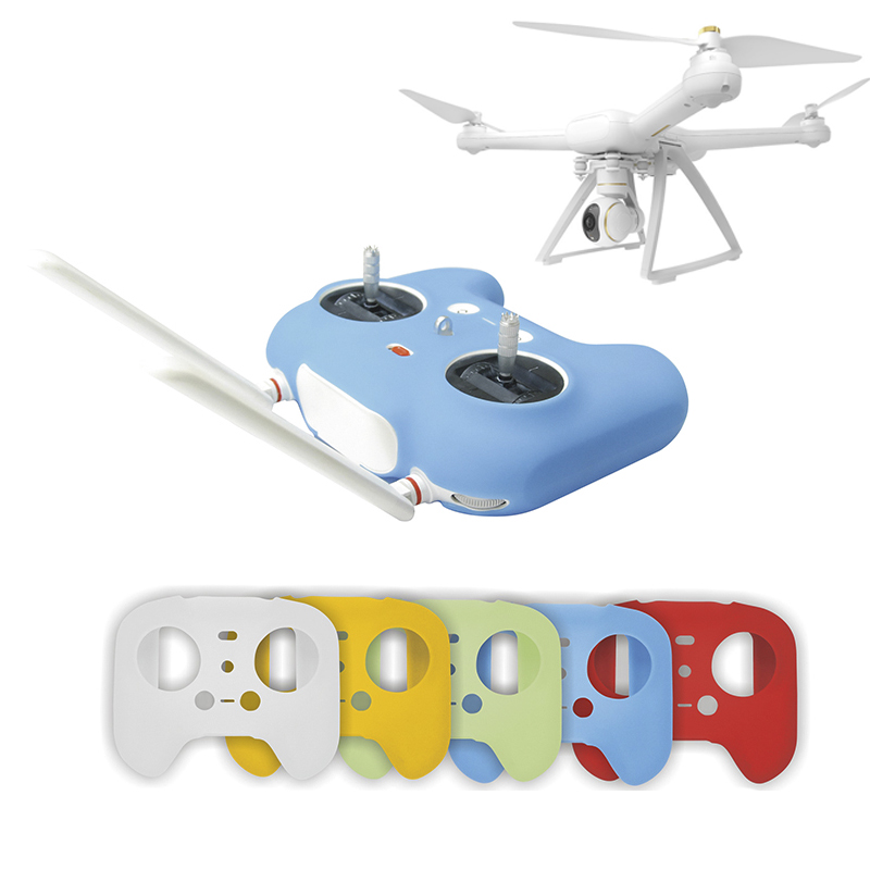 Remote Controller Silicone Cover for Xiaomi Drone Transmitter Case Skin Protector Guard Spare Parts Protector MI 1080P Kits
