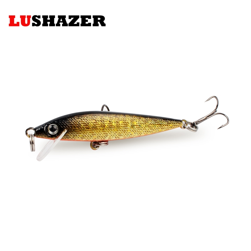 LUSHAZER minnow fishing lures 4g 6.5cm iscas artificiais para pesca em rio crank bait minnow lure hard bait fish wobbler tackle lushazer fishing lure minnow bait 18g hard lures carp fishing iscas artificiais 2016 wobbler crankbait cheap sea fishing tackle