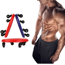 Abdominal Exercise Plate Muscle Training Ab Roller Wheel Workout Toning Back Arms Waist Exercise Home Gym Fitness Equipment Disc