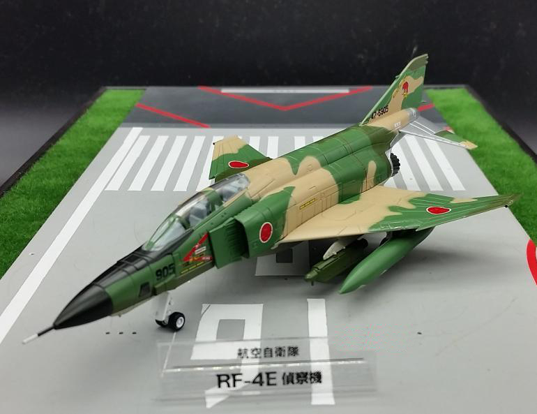 Japanese Self-Defense Forces 1:100 RF-4E phantom F-4 fighter model Collection model Holiday gift