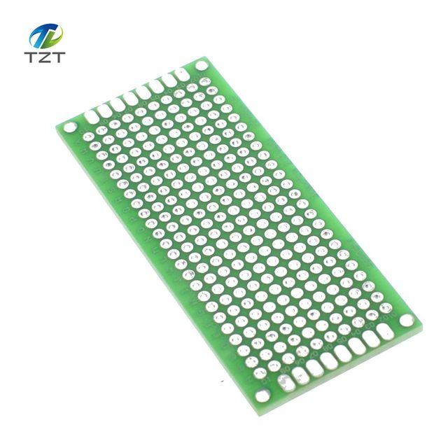20pcs/lot 3cm x 7cm Double Side prototype pcb, 3*7 Proto Board 3X7cm