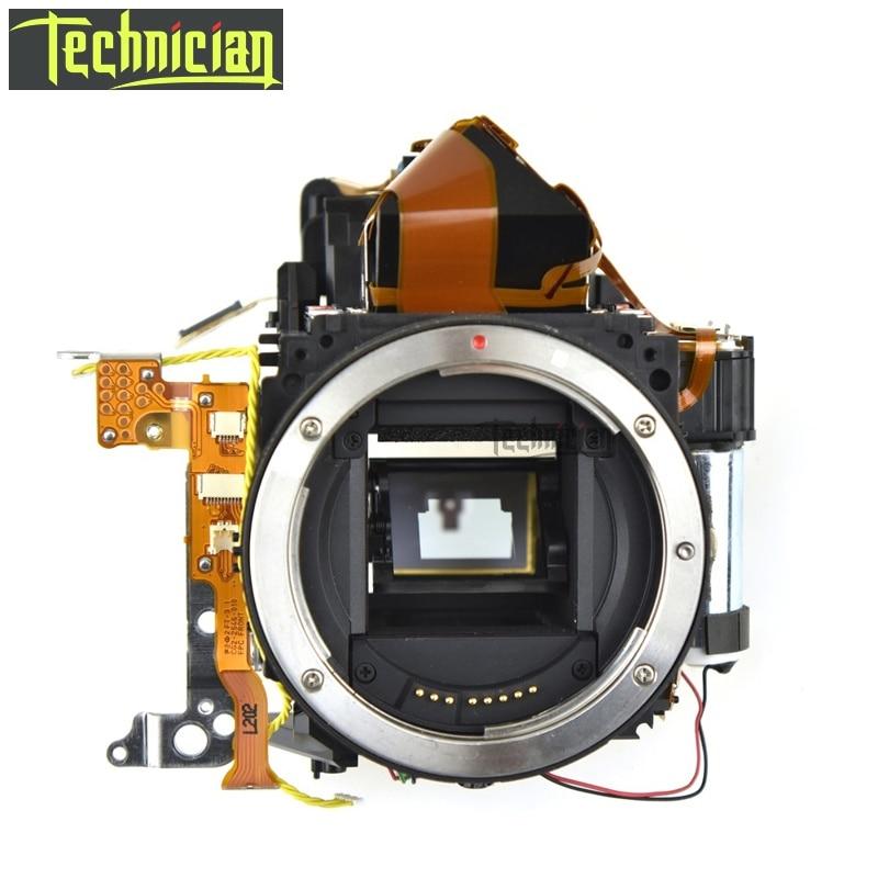 Boîte de corps principal de boîte de miroir 7D avec l'unité de viseur aucune pièces de rechange d'appareil-photo d'obturation pour Canon