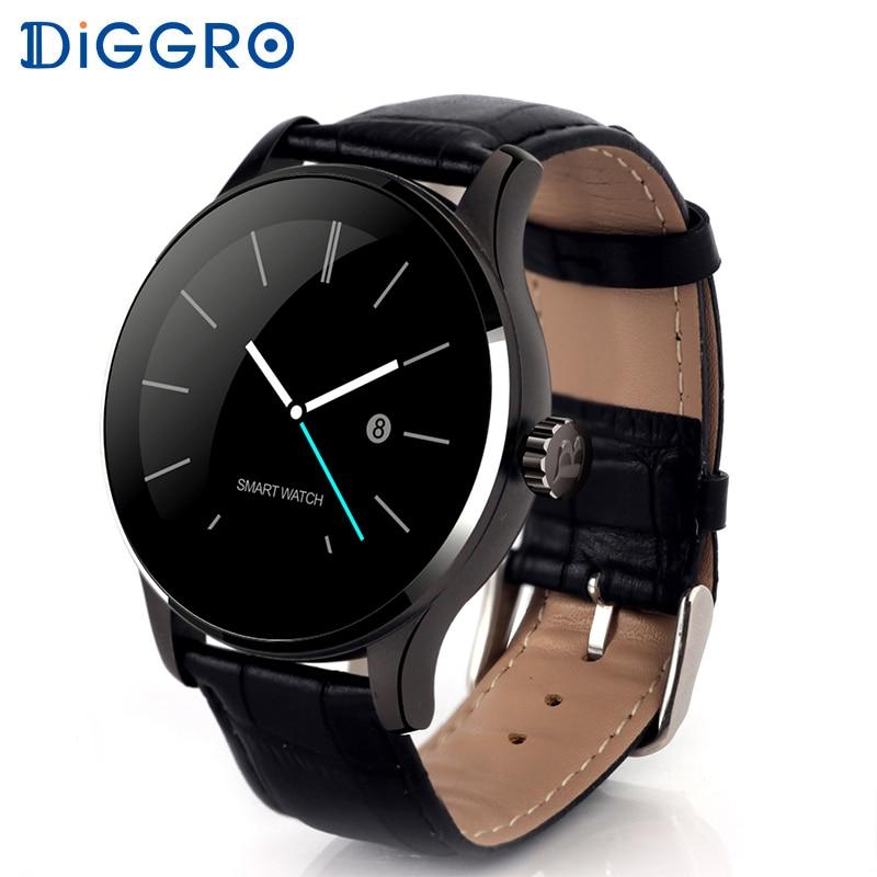Diggro K88H плюс смарт-часы HD Дисплей монитор сердечного ритма шагомер Фитнес трекер Smartwatch для Android IPhone PK DI02 DI03
