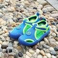 2016 Summer Style Canvas Boys Girls Soft Bottom Sandals Children Outdoor Beach Shoes Sandals Kids Sandalias Male Female Footwear