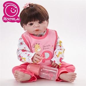 Baby Reborn 55 Cm Full Body Silicone Doll Reborn Realistic Bebes De Silicone Lifelike Silicone Bonecas Reborn Toys