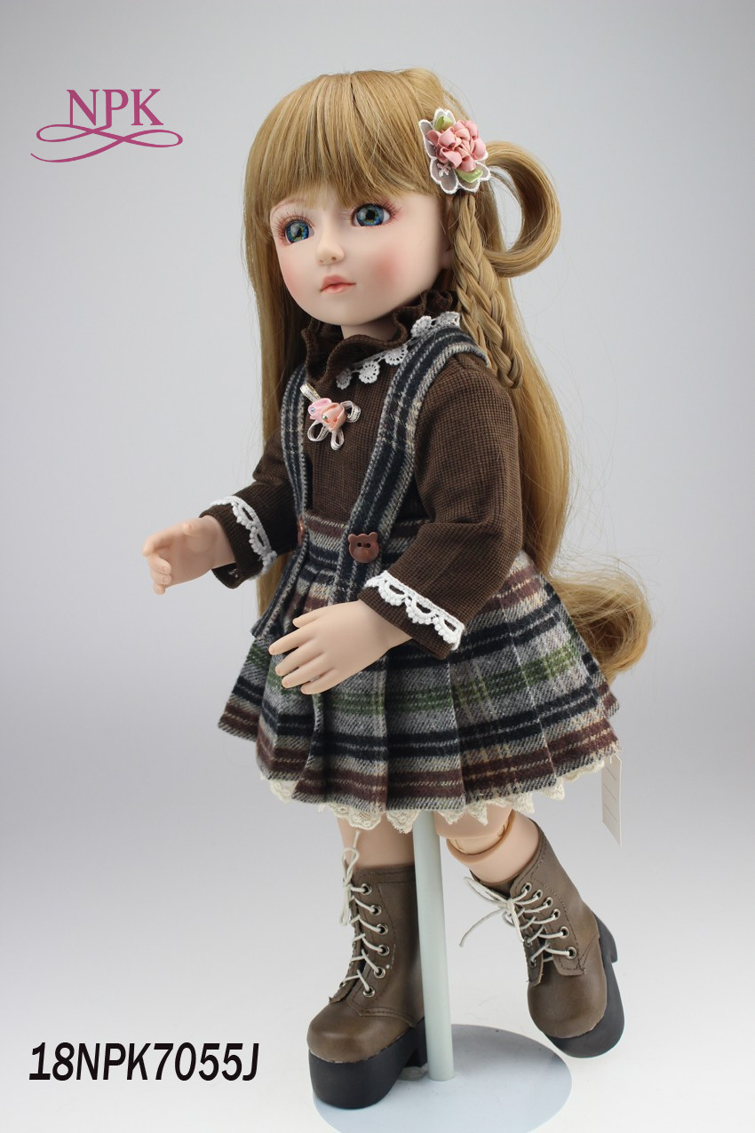 NPK boneca reborn doll BJD doll handmade lifelike doll beautiful and moving doll for children Birthday
