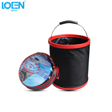 11L/13L Foldable Oxford Water Bucket Blue Red Portable Car Washing Outdoor Camping Hiking Traveling Fishing