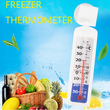 Wholesale 90cm Home Refrigerator Thermometer With Strong Suction Supermarket Freezer Fridge Temperature Detector Birthday Gift все цены