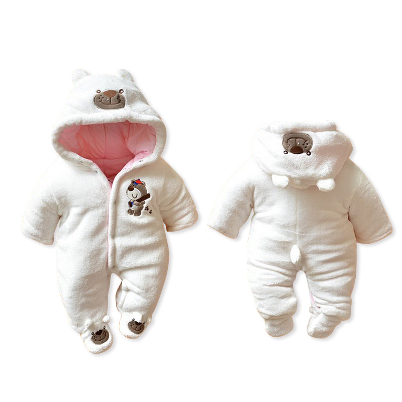 2017 new Baby Romper  Winter Wear Cotton  Newborn Climbing Clothing Newborn Baby boys Girls Clothes  Baby Jumpsuit baby clothing summer infant newborn baby romper short sleeve girl boys jumpsuit new born baby clothes
