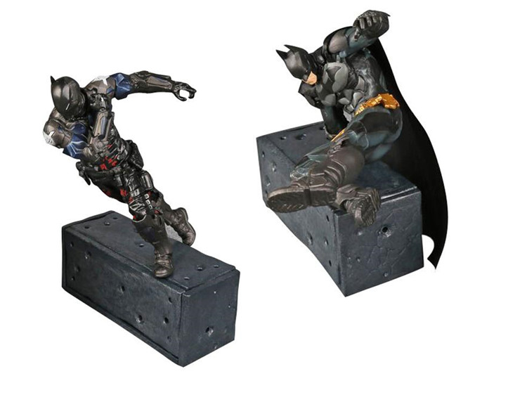 Batman v Superman: Dawn of Justice 2017 Crazy Toys Batman Arkham Knight PVC Action Figure Collectible Model Toy 14cm/18cm WU397 batman v superman dawn of justice batman batmobile pvc action figure collectible toy 25cm