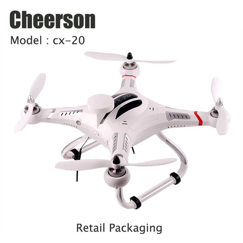 Cheerson CX 20 Remote Control Helicopter 2 4GHz Frequency 6 Axis Gyro Quadcopter 4 Channels GPS